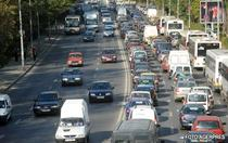 Trafic intens pe drumurile nationale