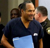 O.J. Simpson cand a fost condamnat, in 2008