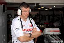 Ross Brawn, pe vremea cand Honda era in F1