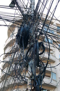Superb India Laughs At Your Power Poles Wtf Wiring 101 Tzicihahutechinfo