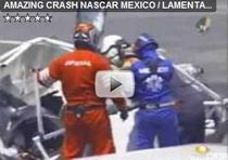 Accident teribil in NASCAR Mexico