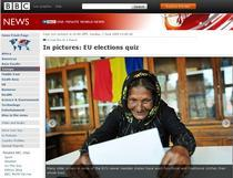 Romania in lume - captura BBC