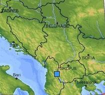 Seism in Albania