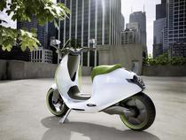Concept de scuter electric al smart