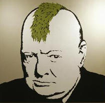 Winston Churchill by Banksy
