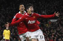 Park Ji-Sung invinge pe Arsenal