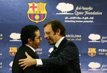 Qatar Foundation, contract de sponsorizare cu Barcelona