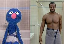 "Grover vs. ""Barbatul Old Spice"""