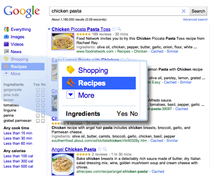 Google Recipes