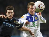 Manchester City vs. Dinamo Kiev, in Europa League