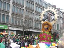 Saint patrick's day in dublin