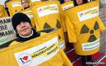Protest antinuclear Greenpeace
