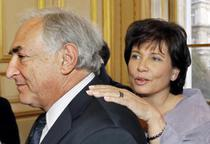Anne Sinclair si Dominique Strauss-Kahn