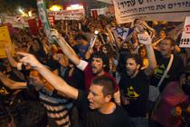 Proteste in Israel (6 august)