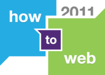 How to Web 2011, logo