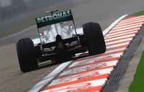Michael Schumacher, rapid pe circuitul din China