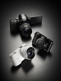 Noile camere Samsung NX