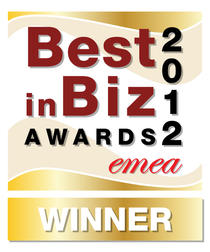 Best in Biz Awards 2012 EMEA Gold