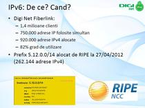 Cate adrese IP are alocate in prezent RCS&RDS