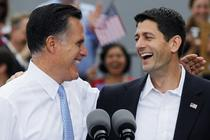 Mitt Romney si Paul Ryan