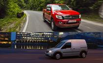 Colaj Ford Ranger si Ford Transit Connect