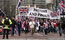 Protest in Belfast