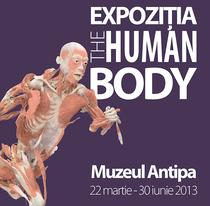 Afis expozitia The Human Body