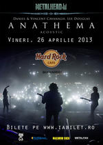 Anathema - Bucharest