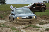 Dacia Duster in off road