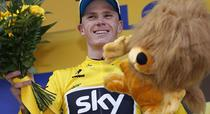 Chris Froome, tricou galben in Turul Frantei