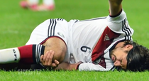 Sami Khedira, accidentat