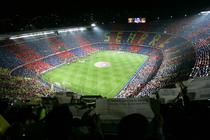 Camp Nou, la un derbi cu Real Madrid