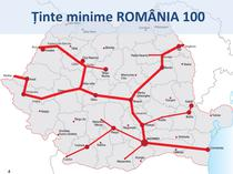 Strategia de autostrazi USL - Romania 100