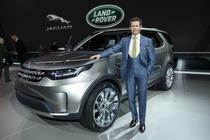 Gerry McGovern si Land Rover Discovery Vision Concept