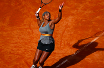 Serena Williams, la Roma