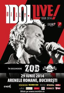 Billy Idol la Bucuresti
