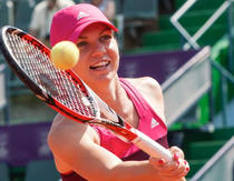 Simona Halep la BRD Bucharest Open
