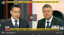 Ponta vs Iohannis la B1 TV