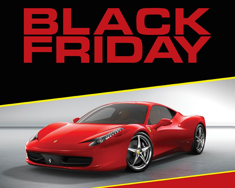 black friday in auto s au pregatit ferrari ford opel si auto. Black Bedroom Furniture Sets. Home Design Ideas