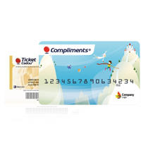 Ticket Cadou si card Compliments