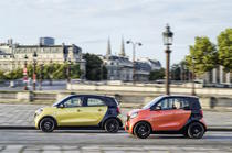 smart forfour si smart fortwo