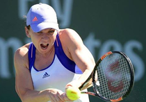 Simona Halep, la Indian Wells