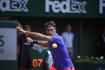 Roger Federer, pe Phillipe Chatrier