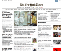 Homepage New York Times