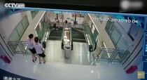 Accident tragic intr-un mall din China
