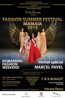 Fashion Summer Festival Mamaia 2015