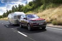 Land Rover Transparent Trailer