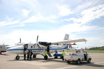 Avion Twin Otter din flota companiei indoneziene Aviastar