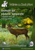Animale din padurile temperate