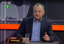 Igor Dodon l-a injurat in direct pe Andrian Candu